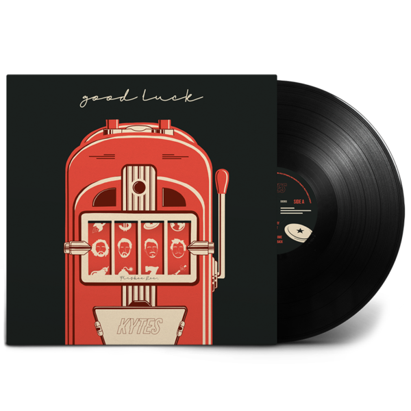 Good Luck Vinyl Black